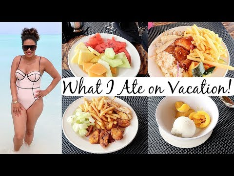 What I Ate On Vacation In Antigua! ALL-INCLUSIVE RESORT BUFFET .. Uh Oh