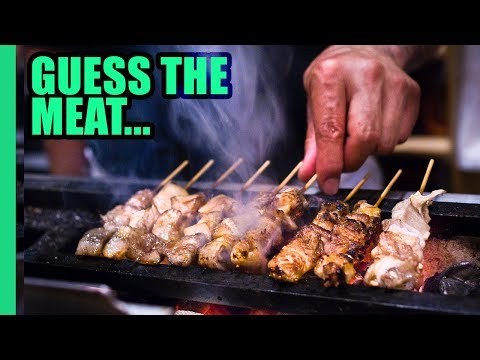 Bizarre Japanese Bar Food and the Secret Nightlife of Tokyo's Salarymen!