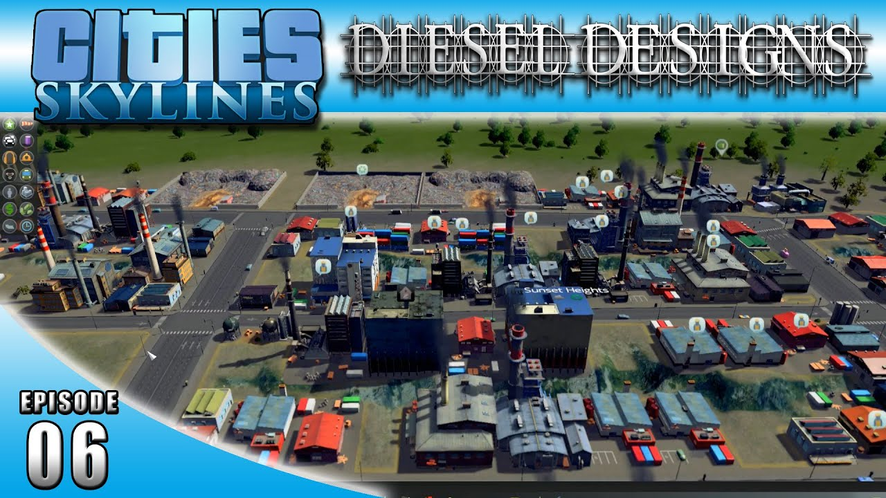 Cities Skylines Ep06 Automatic Bulldoze Mod Dieseldesigns