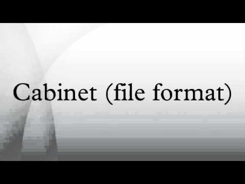Cabinet (file format)