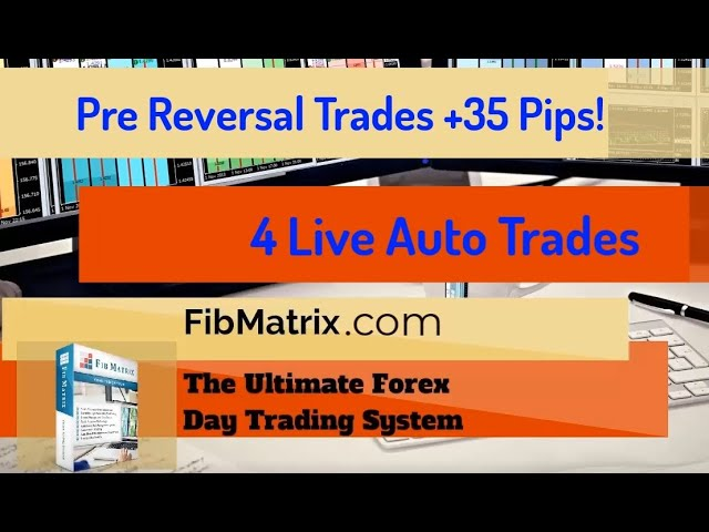 +37 Pips! 4 Sweet Pre reversal Trades – FibMatrix VTA Automated Forex Trading Software – Trade Room