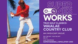 Waialae Country Club & Super Baseball Simulator 1.000: Sporting chance   Super NES Works #024