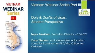 IMPROVE VISA APPROVALS in Vietnam   PART III Do's & Don'ts of visas for students
