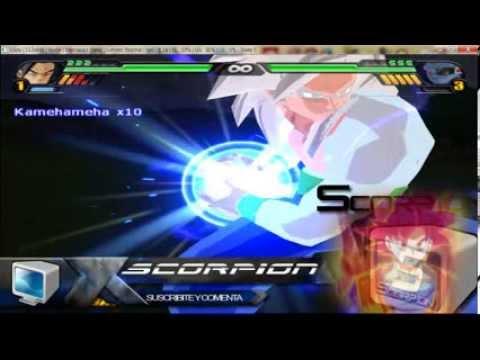 Goku ssj5 en Dragon Ball Z Budokai Tenkaichi 3PS2