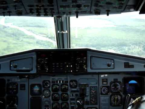 Landing in Guadeloupe - [Cockpit]