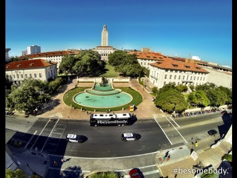 College Tour: The University of Texas - Austin. #besomebody.