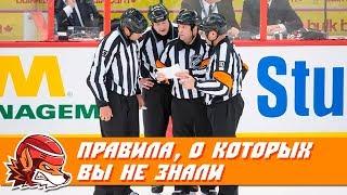 Топ-10 хоккейных правил, о которых вы могли не знать