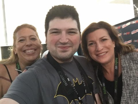 NYCC 2016 Batman and Bill Interview With Athena Finger and Alethia Mariotta