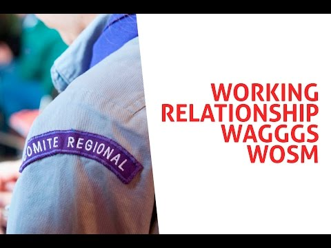 Working relationship WAGGGS WOSM