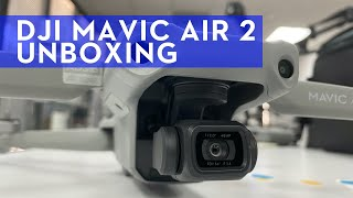 Mavic Air 2 FLY MORE COMBO Unboxing