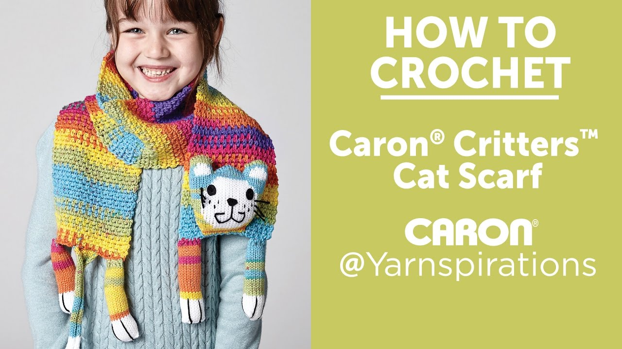 Crochet A Scarf Cat Scarf Youtube