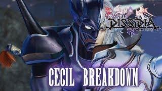 CECIL BREAKDOWN!!: Dissidia Final Fantasy NT