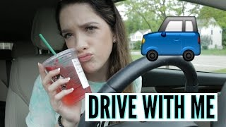 DRIVE WITH ME   CAR VLOG