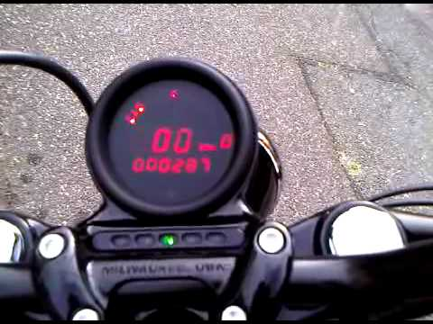 hqdefault forty eight with dakota digital speedometer youtube Simple Motorcycle Wiring Diagram at gsmx.co