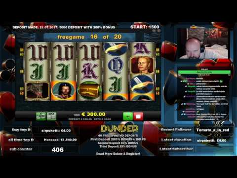 Video Dunder casino