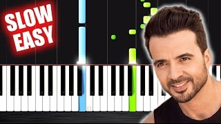 Download Luis Fonsi - Despacito ft. Daddy Yankee - SLOW EASY Piano Tutorial by PlutaX Mp3 and Videos