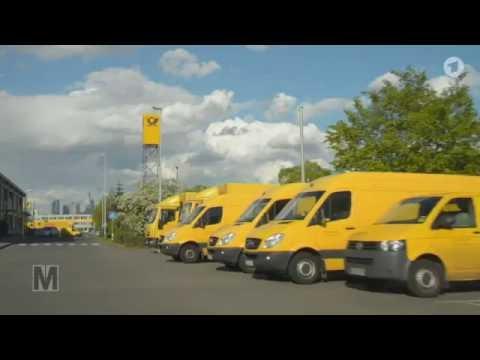 Ein Leben im Kleintransporter: Wie Briefe-Fahrer für die Deutsche Post arbeiten müssen | Monitor