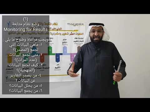 د. محمد العامري يوضح كيفية بناء نظام المتابعة والتقييم المبني على النتائج ؟