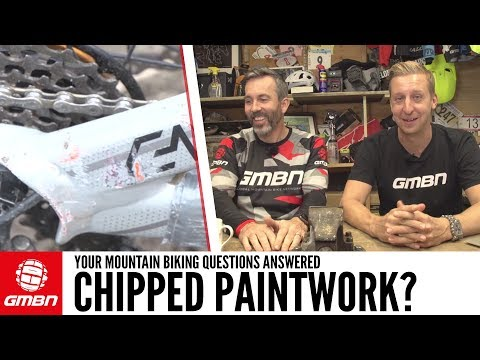How Can I Repair Paint Chips On My Bike? | Ask GMBN Anything About Mountain Biking
