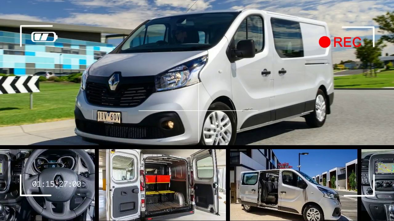 6e4d267fe2 2017 Renault Trafic Crew review - YouTube