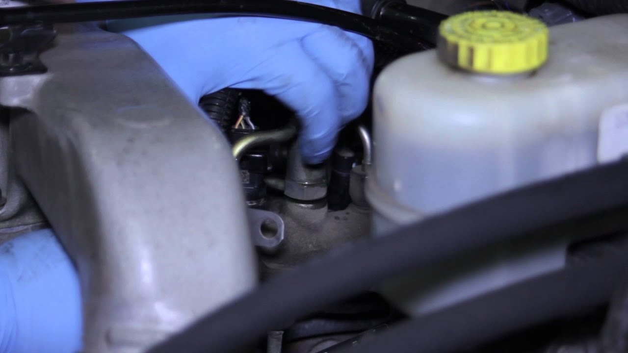 Dodge Ram Fuel Pressure Relief Valve Replacement Youtube 1996 Powerstroke Filter Housing