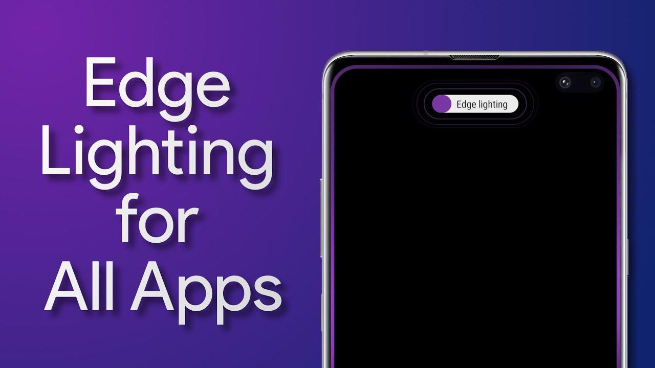 One UI Tricks - Make Any Apps' Notifications Work On Samsung Edge Lighting