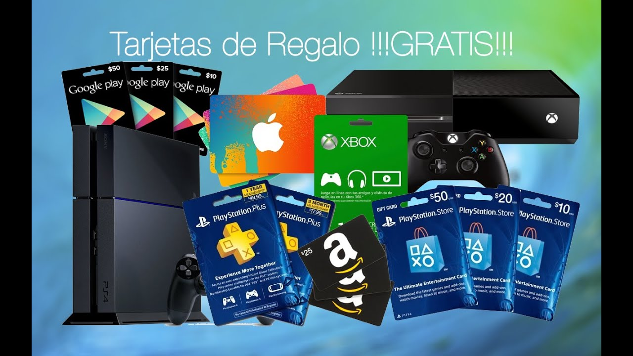 Como conseguir gratis tarjetas de regalo de amazon psn for Regalo tutto gratis