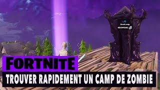 FORTNITE - SAUVER THE WORLD - TROUVER WHAT THE ZOMBIE CAMPS!