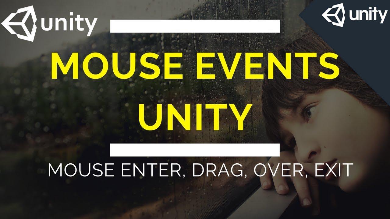 #13 mouse events unity | unity 3d mouse | unity mouse over | unity  onmouseover | unity onmousedrag