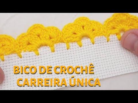 BICO DE CROCHÊ - CARREIRA ÚNICA