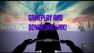 SledSimulator 0.1.0 Alpha first gameplay! DOWNLOAD LINK IN DESC!