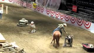 2012 Calgary Stampede Cowboy Up Challenge Finals - Jim Anderson 1st place