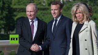 Rusia: Encuentro de Putin y Macron en el Foro Económico Internacional