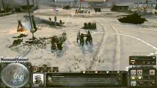 Company of Heroes 2 [Open Beta] - Хроника онлайн боёв №0 - 1\2 - Немцы (тест)