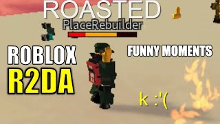 ROBLOX R2DA Funny Moments - Rekt by PR, RIP Bacon Noobs, Brute Fling, Funny Body Glitches!