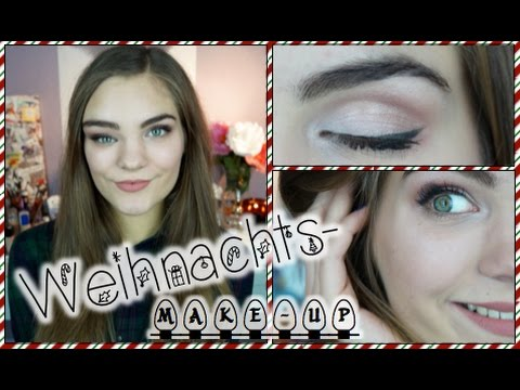 weihnachts make up tutorial get ready with me youtube. Black Bedroom Furniture Sets. Home Design Ideas