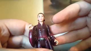Star Wars Episode 1 Queen Amidala Battle Dress Figure Review