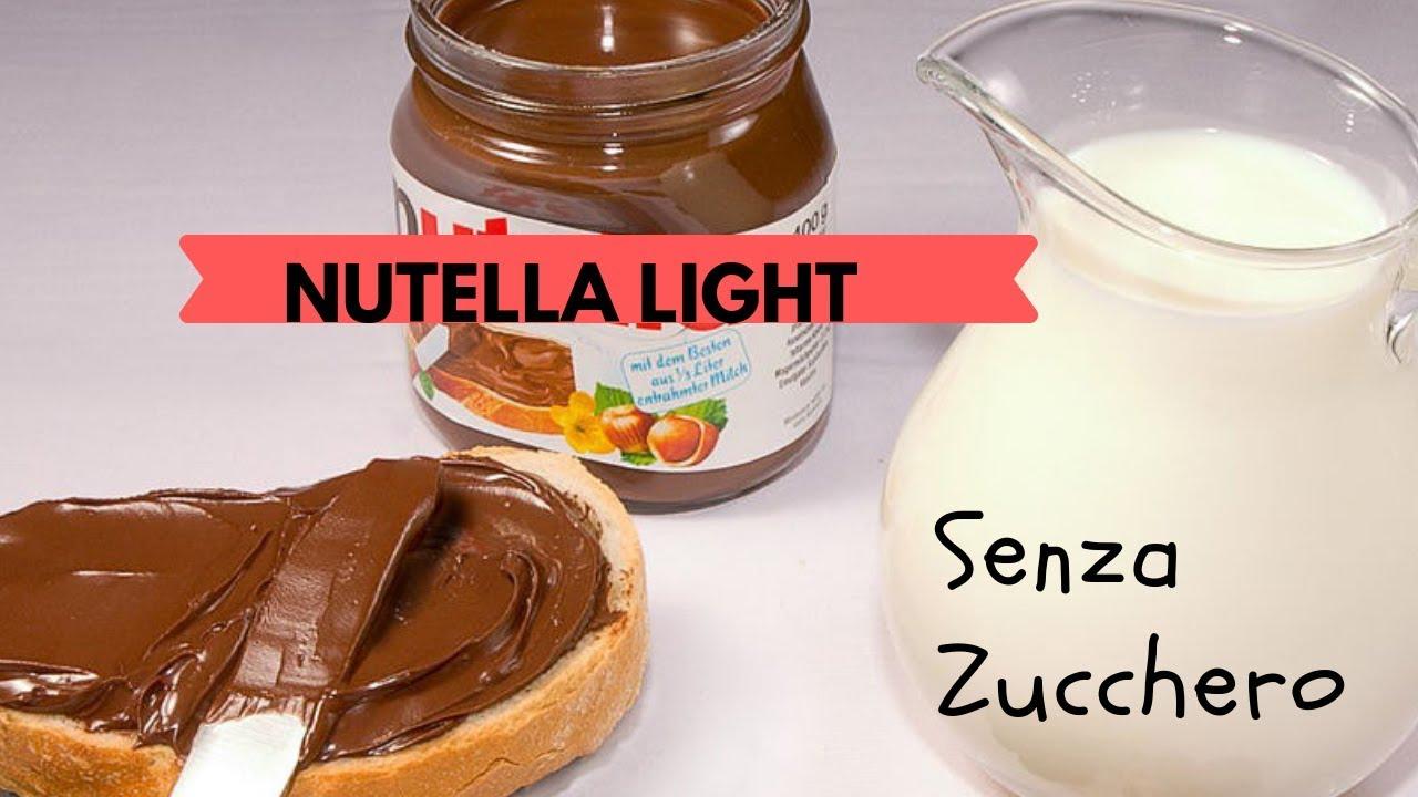 Ricetta Nutella Light Fatta In Casa.Nutella Light Senza Zucchero Senza Coloranti E Senza Conservanti Youtube