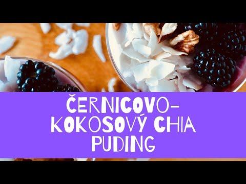 Cernicovo-kokosovy Chia Puding