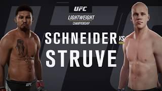 Stefan Struve 78 OVR vs Бомж 67 OVR 0_О EA Sports UFC 2