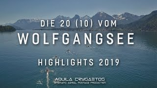The 20 (10) from Wolfgangsee 2019 - Long distance rowing race - Highlights