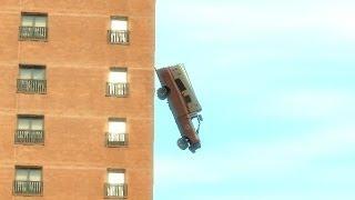 GTA 4 - Аномальные качели (Приколы)