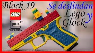 Glock 19 o Block 19 ??? Glock y Lego dicen NO VAMOS