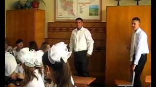 Перший урок в 11 кл. Скалатської школи І - ІІІ ст.