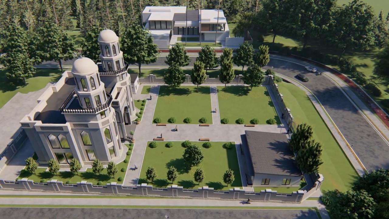 Проект Мечеть В ДУШАНБЕ