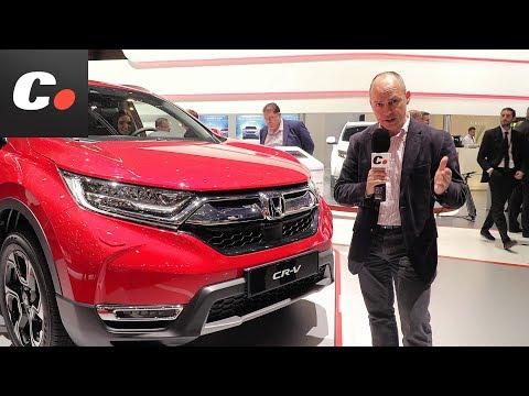Honda CR-V SUV | Salón de Ginebra 2018 | Geneva Motor Show en español | coches.net