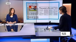Wisconsin to recount votes from US presidential election