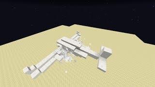 Avion qui vole sans mod - Minecraft Vanilla