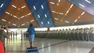 """""""Hymne Taruna Nusantara"""" oleh Siswa SMA TN Angkatan 27"""