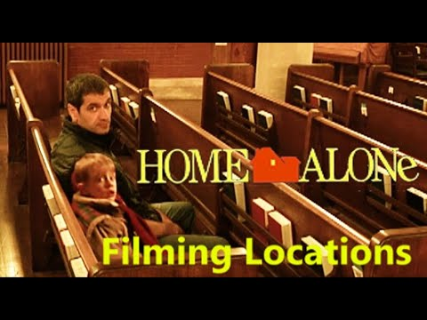 Home Alone 1990  filming location John Hughes